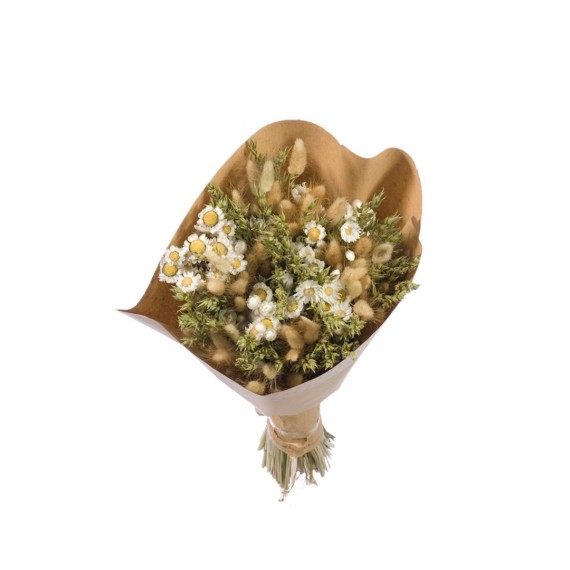 Bouquet L Blanc/Vert