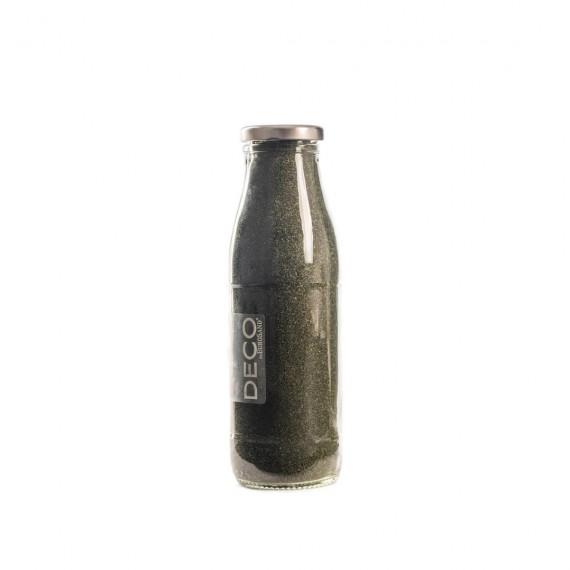 Sable décoratif 0.5 mm vert olive - 500 ml