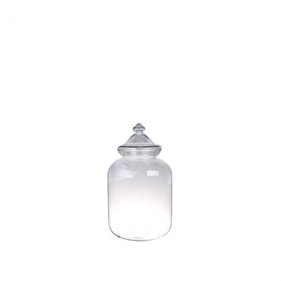 Bonbonne S avec bouchon en verre