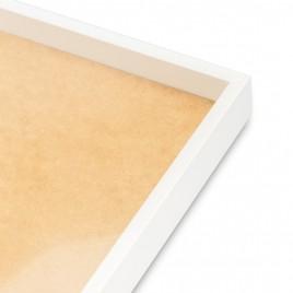 Cadre blanc Panoramic XL