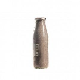 Sable décoratif 0.5 mm gris - 500 ml