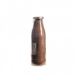 Sable décoratif 0.5 mm marron - 500 ml